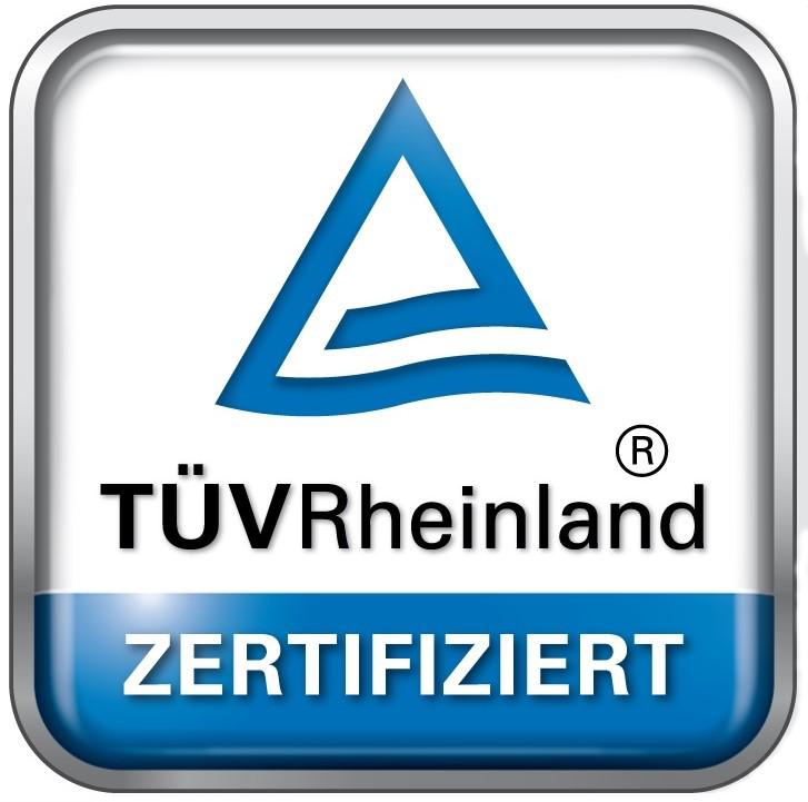 Certification by notified Body TÜV Rheinland for VCL